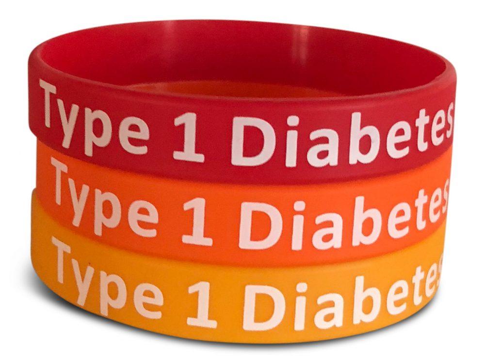 Diabetes armbånd 3-pakk rød - diabetes produkter